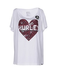 Hurley Topwear T Shirts Women White