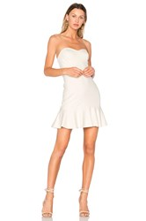 Amanda Uprichard Rocky Dress Ivory