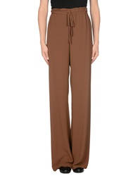 Kaos Casual Pants Brown