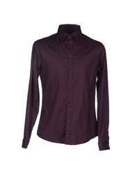 Class Roberto Cavalli Shirts Shirts Men Deep Purple