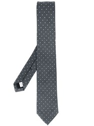 Burberry London Dotted Tie Grey