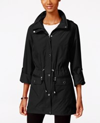 Styleandco. Style Co. Hooded Anorak Jacket Only At Macy's Deep Black