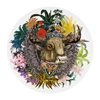 Christian Lacroix Love Who You Want Charger Plate Monseigneur Bull