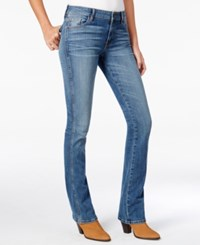 Guess Mid Rise Blue Waltz Wash Bootcut Jeans