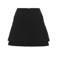 Givenchy Crepe Shorts Black