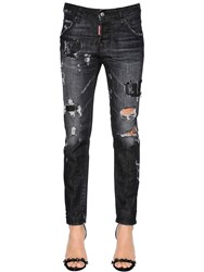 Dsquared Fade To Grey Cool Girl Denim Jeans