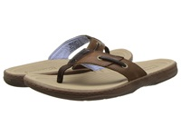 Sperry Baitfish Thong Dark Brown Men's Sandals