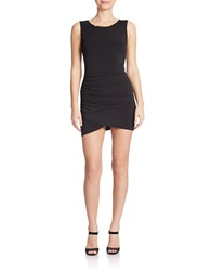 Hailey Logan Ruched Sheath Dress Black
