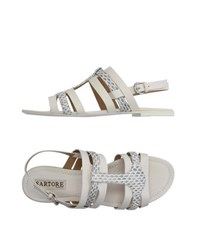 Sartore Footwear Sandals Women Ivory