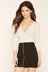 Forever 21 Zipper Front Mini Skirt