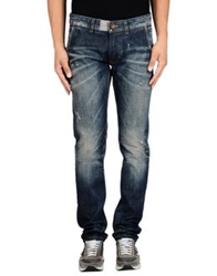Paolo Pecora Man Denim Pants Blue