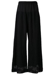 G.V.G.V. Wide Leg Trousers Black