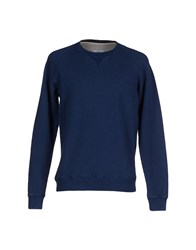Hentsch Man Topwear Sweatshirts Men Blue