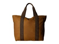 Filson Large Grab N Go Tote Dark Tan Brown Tote Handbags
