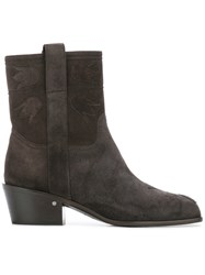 Laurence Dacade Anthacite Boots Grey