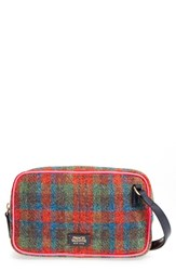 Frances Valentine 'Lucy' Plaid Crossbody Bag Orange Orange Multi Pink