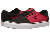 Dc Trase Tx Black White Red 2 Skate Shoes