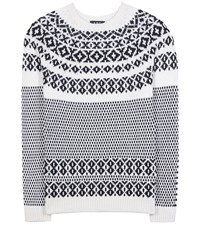 A.P.C. Wool And Cotton Sweater White