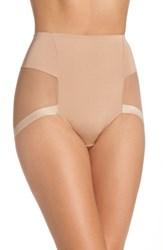 Le Mystere Women's Infinite High Waist Shaper Panties Natural