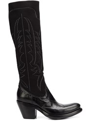 Rocco P. Western Style Boots Black
