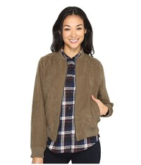 Brigitte Bailey Aeryn Bomber Jacket Olive Women's Coat
