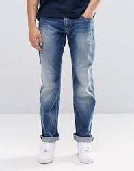 Pepe Jeans Hatch Slim E64 Mid Blue Distressed Tint Glory