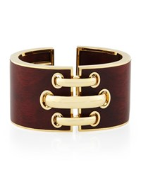 18K Gold Heartwood Shoelace Cuff Bracelet David Webb