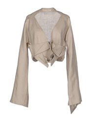Yohji Yamamoto Suits And Jackets Blazers Women Beige