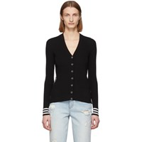 Off White Black Industrial Cardigan