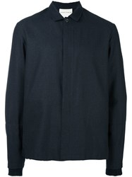 Stephan Schneider Cropped Longsleeved Shirt Blue