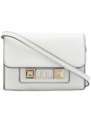 Proenza Schouler Ps11 Wallet With Strap White