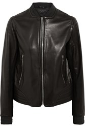 Rag And Bone Skidpan Leather Jacket Black