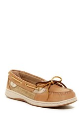 Sperry Angelfish Sparkle Boat Shoe White