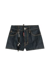 Dsquared2 Denim Shorts Blue