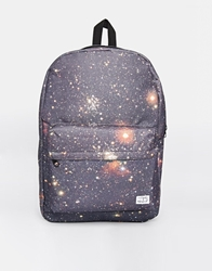Spiral Galaxy Backpack Black
