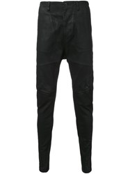 Julius Coated Jeans Black