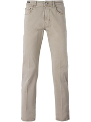 Pt05 Classic Slim Chinos Nude And Neutrals