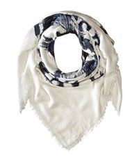 Diesel Swillot Scarf Off White Scarves Gray