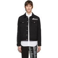 Yang Li Black Denim Samizdat Jacket