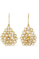 Pippa Small 18 Karat Gold Diamond Earrings One Size