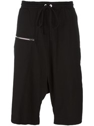 Lost And Found Rooms Zipped Shorts Black