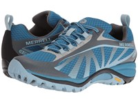 Merrell Siren Edge Waterproof Faience Forget Me Not Women's Lace Up Casual Shoes Gray