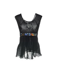 Tricot Chic Tops Black