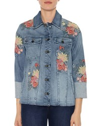 Joe's Jeans Floral Denim Jacket Sasha