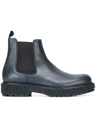 Valentino 'Punky Ch Beatle' Chelsea Boots Blue