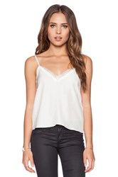The Kooples Lace Cami White