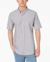 Ezekiel Brad Yarn Dyed Dot Dobby Pocket Shirt Grey