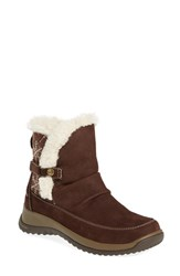 Jambu Women's 'Sycamore' Water Resistant Boot Brown Leather