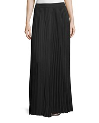Joseph Hilde Pleated Maxi Skirt Black Size 40 Fr 6 Us