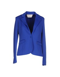 .. Merci Suits And Jackets Blazers Women Blue